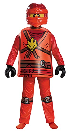 Ninjago Halloween Costume.Amazon Com Boy S Lego Ninjago Masters Of Spinjutsu Kai Deluxe