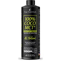 MCT Oil 100% Natural +95% en C8 y C10, KETO y Paleo, Ideal para tu cafe