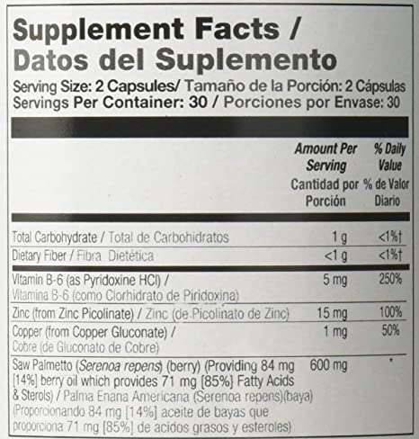 Amazon.com: Natures Life Prostate Formula Nutritional Supplements, 60 Count: Health & Personal Care