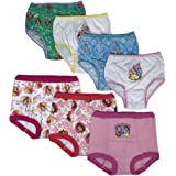 Disney Girls TGUP7117 Princess 3pk Training Pants & 4pk Panty Underwear - Multi
