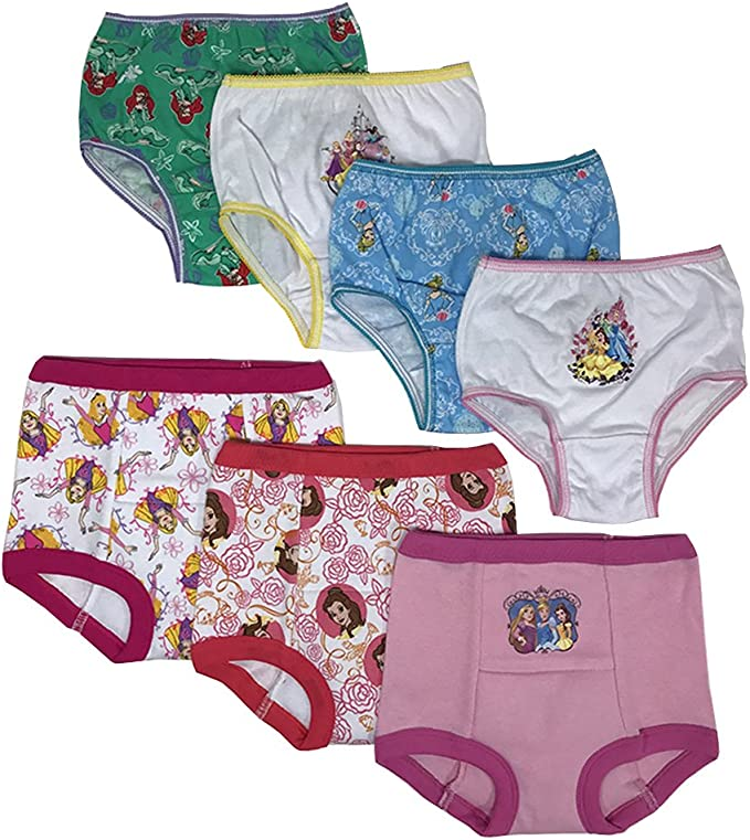 Twin Pack, Pale Pink, Small,  12-18 months Bright Bots Potty Training Pants