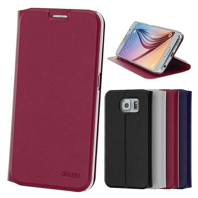 13 opinioni per Samsung Galaxy S6Flip Custodia, doupi Flip Cover Deluxe Magnet Custodia Book