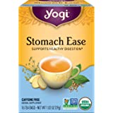 Yogi Tea - Stomach Ease (6 Pack) - Supports Healthy Digestion - 96 Tea Bags