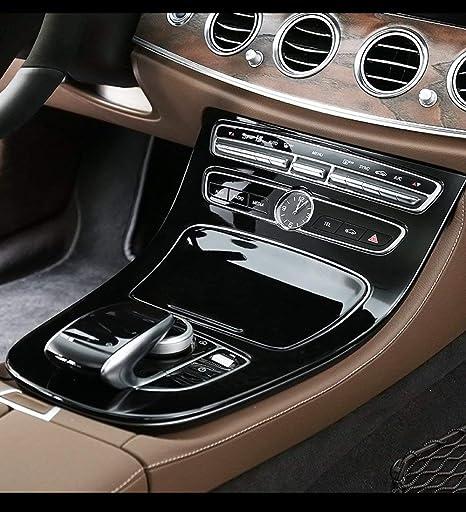 AUTO Pro per Mercedes-Benz Classe E W213 ABS Console Gear Panel Cover Piano Nero