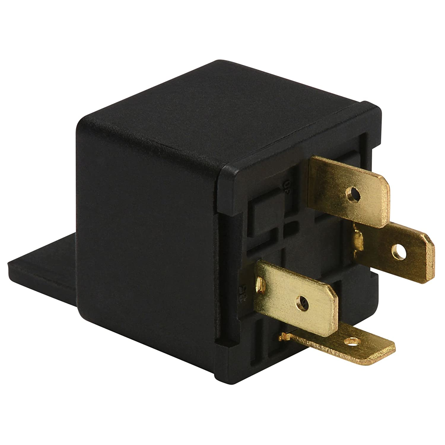 Factory Buyouts Emitter 12 VDC 4-Pin Relay SPST 40A
