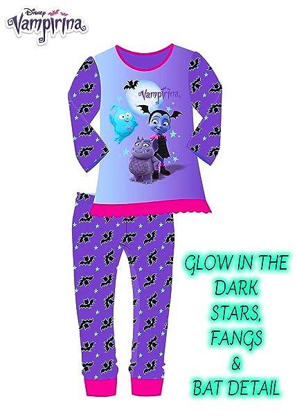 Vampirina Pijama Entero Niña Pijamas Niñas Ropa Noche Halloween (3-4)