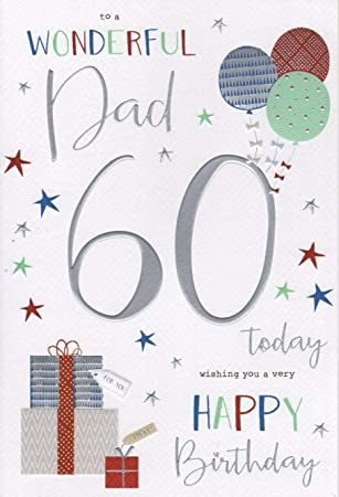 Dad 60th Birthday Card