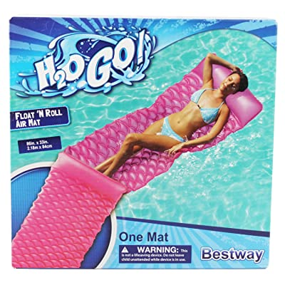 Connie N Randy H20 Go Float 'N Roll Air Mat: Toys & Games
