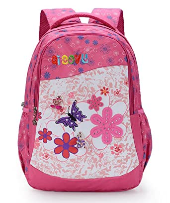 Fanci Girls' Shoulder Bag Print Butterfly Lovely Backpack Loptop Bags Rucksack