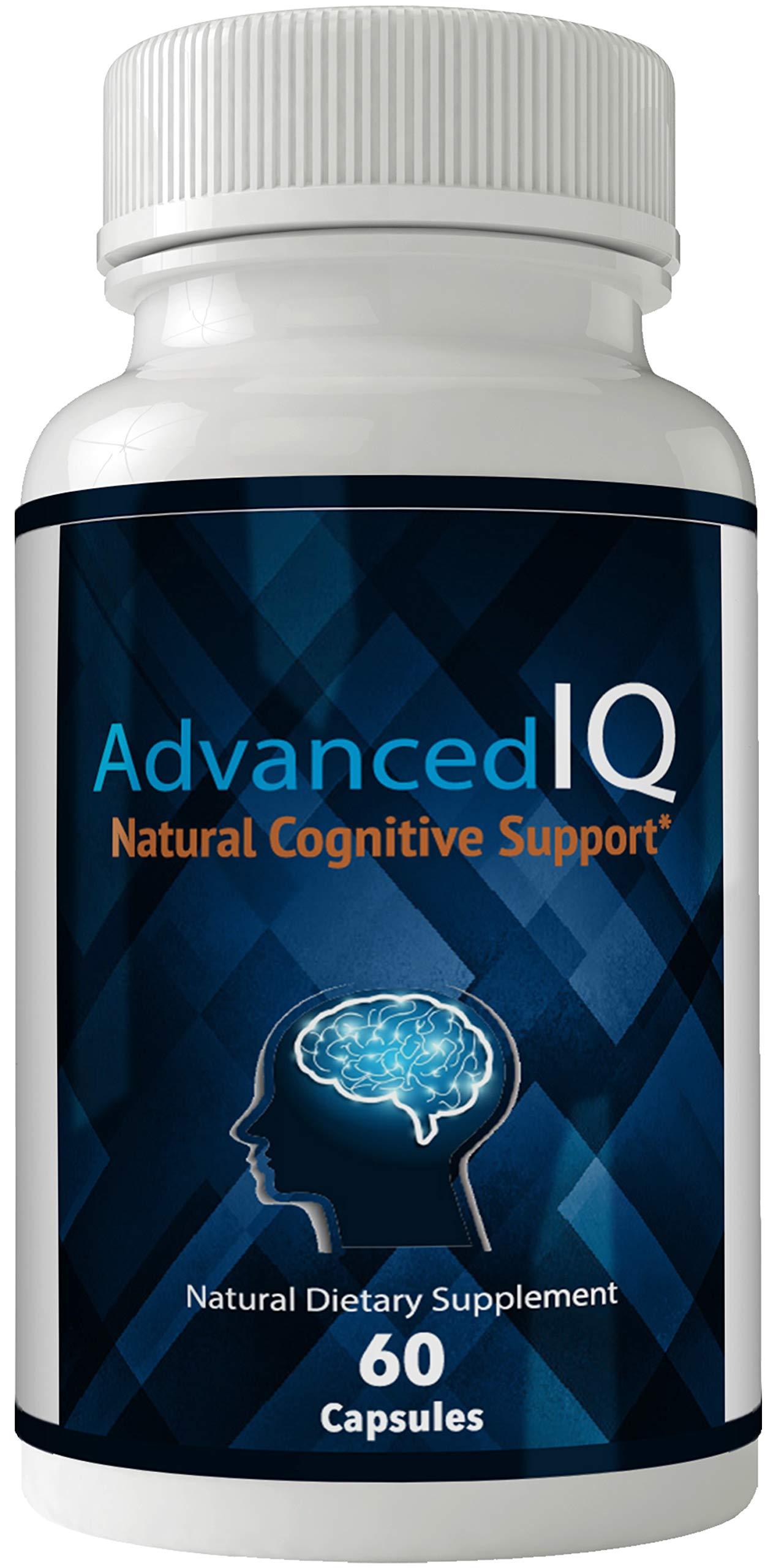 Advanced Iq Brain Enhancement - Advanced IQ Plus Brain Supplement - Advanced IQ Plus Pills Supplement - Original Advanced IQ Optimal Cognitive Support - Mind IQ Plus Limitless Pill Tests