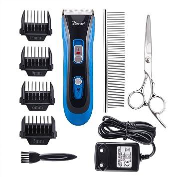 Ecoastal recargable inalámbrico de bajo ruido Clash Animal de peluquería -  Professional Electric Pet Hair Clippers 83cc60053828