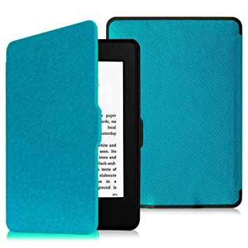 check out 03054 9b0d1 FINTIE Slimshell Case For Kindle Paperwhite - Fits All Paperwhite  Generations Prior to 2018, Not Fit All-New Paperwhite 10Th Gen, Blue