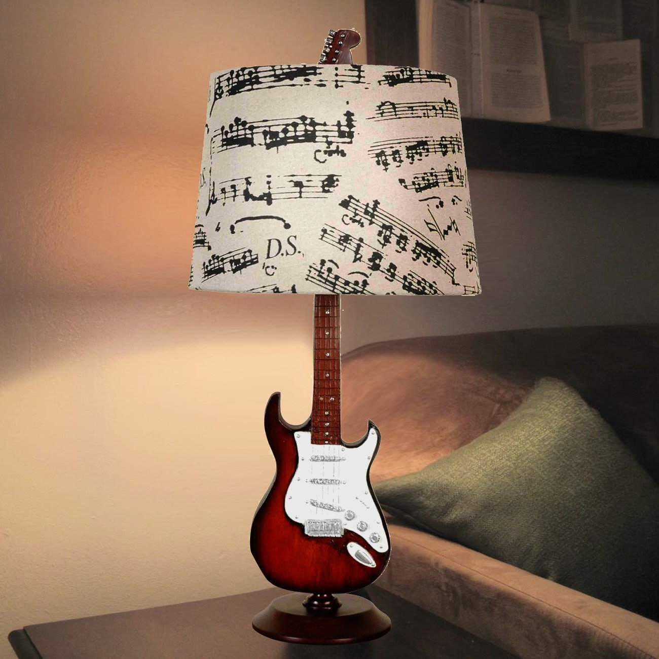 Amazon creative motion guitar desk lamp 245 inch home amazon creative motion guitar desk lamp 245 inch home kitchen aloadofball Image collections