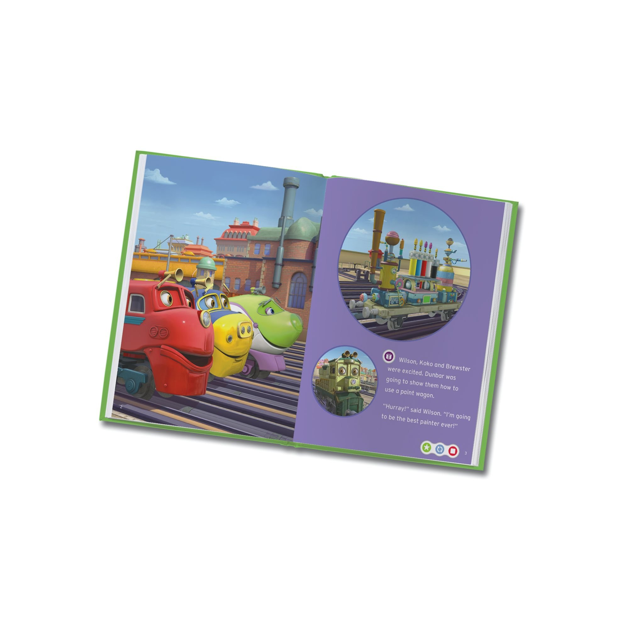 LeapFrog LeapReader Book: Chuggington: Wilson and the Paint Wagon (works with Tag) by LeapFrog (Image #6)