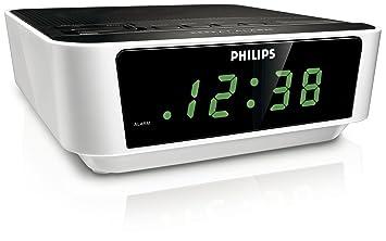 Philips AJ3112/05 - Radio despertador, color blanco: Amazon.es: Electrónica