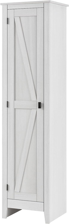 "SystemBuild Farmington 18"" Wide Storage Cabinet, Ivory Pine"