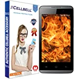 Cellbell TM Reliance Jio LYF Flame 3 9H Premium Tempered glass screen protector with FREE Installation Kit