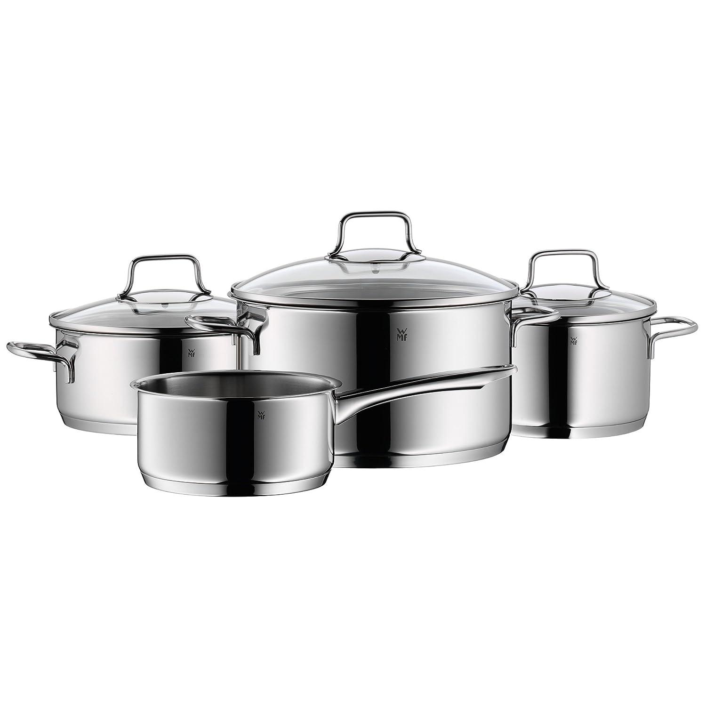 Amazon.com: WMF Astoria - Juego de ollas (4 piezas, tapa de ...