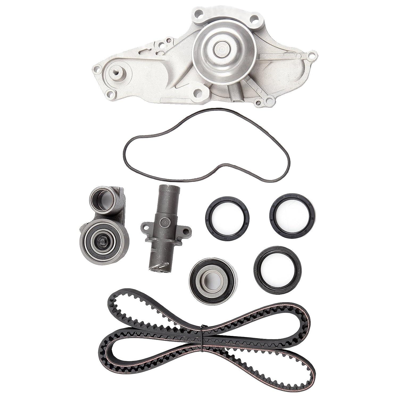 amazon eccpp timing belt water pump kit fit for 2003 2004 2005 Acura 3.2L pump kit fit for 2003 2004 2005 2006 2007 2008 2009 2010 2011 2012 2013 2014 2015 acura mdx 2005 2006 2007 honda accord 3 0l 3 2l 3 5l 3 7l v6 gas sohc