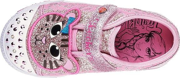 | Skechers Kids' Shuffles Kitty Kraze Sneaker | Flats