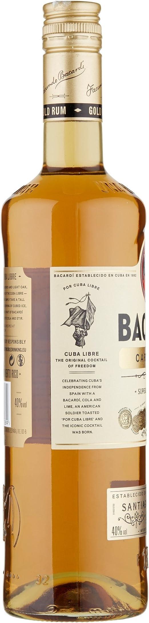 Bacardi Carta D Oro Rum