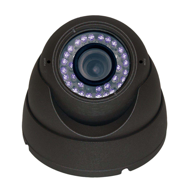 "Channel Vision 6821-O-Sony 1/3"" Hi-Res Effio E/2.8 to 12mm Vari-Focal CCD 700 TVL Eye Ball Dome"