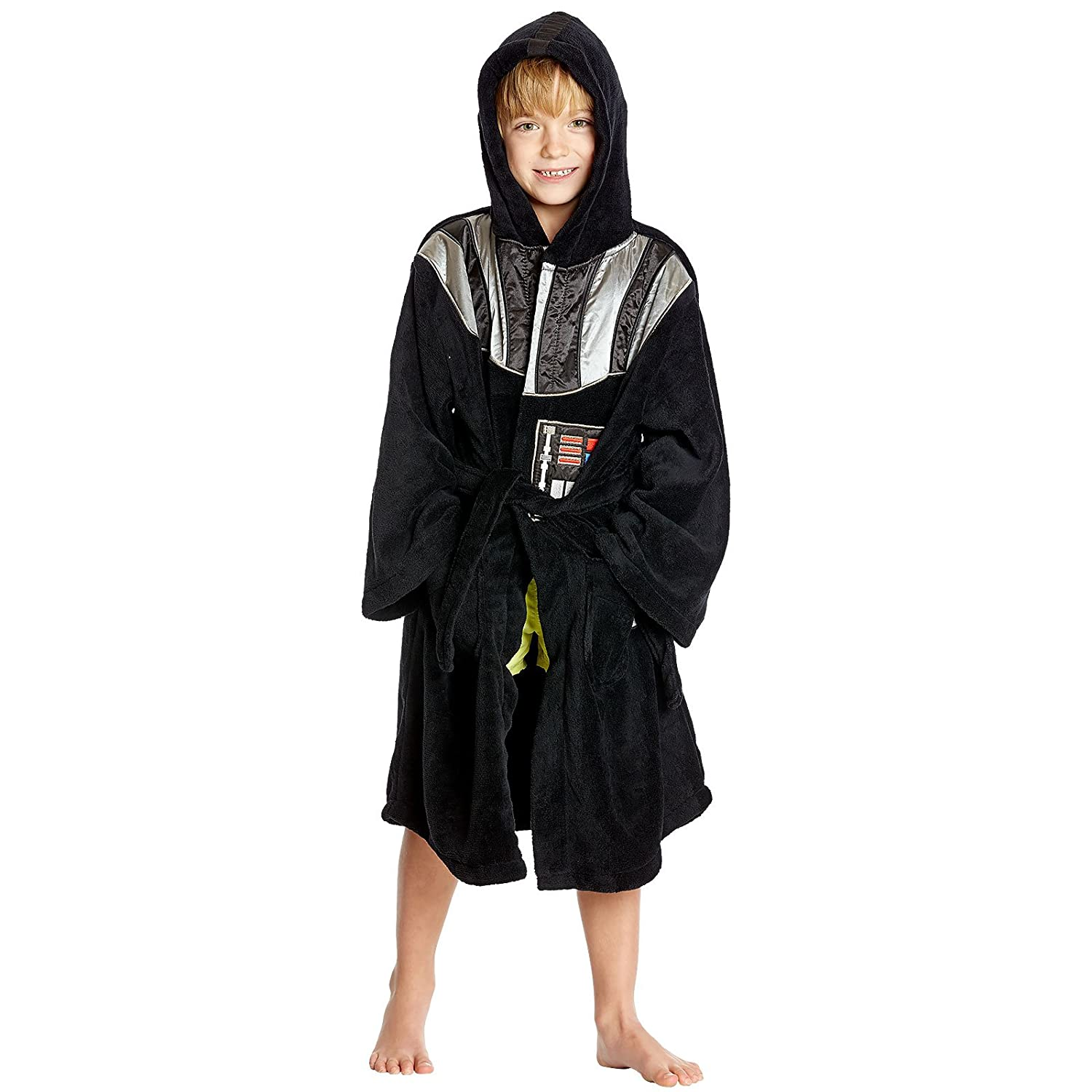 Star Wars Darth Vader Children Bathrobe Black - 10/12 Years