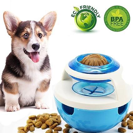 AOLVO IQ Treat Dispensador de Juguetes para Perro, Juguete Interactivo para Perro, dispensador de