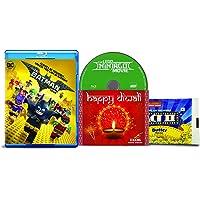 The Lego Batman Movie + The Lego Ninjago Movie - 2 English Movies (2 Blu-ray bundle offer)