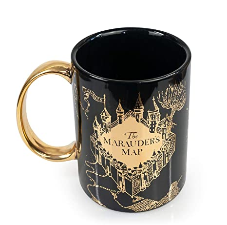 Amazon.com: Taza de café de cerámica con diseño de mapa de ...