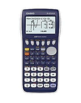 Casio graphics calculator fx 9750gii amazon office products casio graphics calculator fx 9750gii ccuart Choice Image