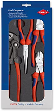 """3 Piece Knipex 00 20 11 /""""Assembly/"""" Pliers Set"""