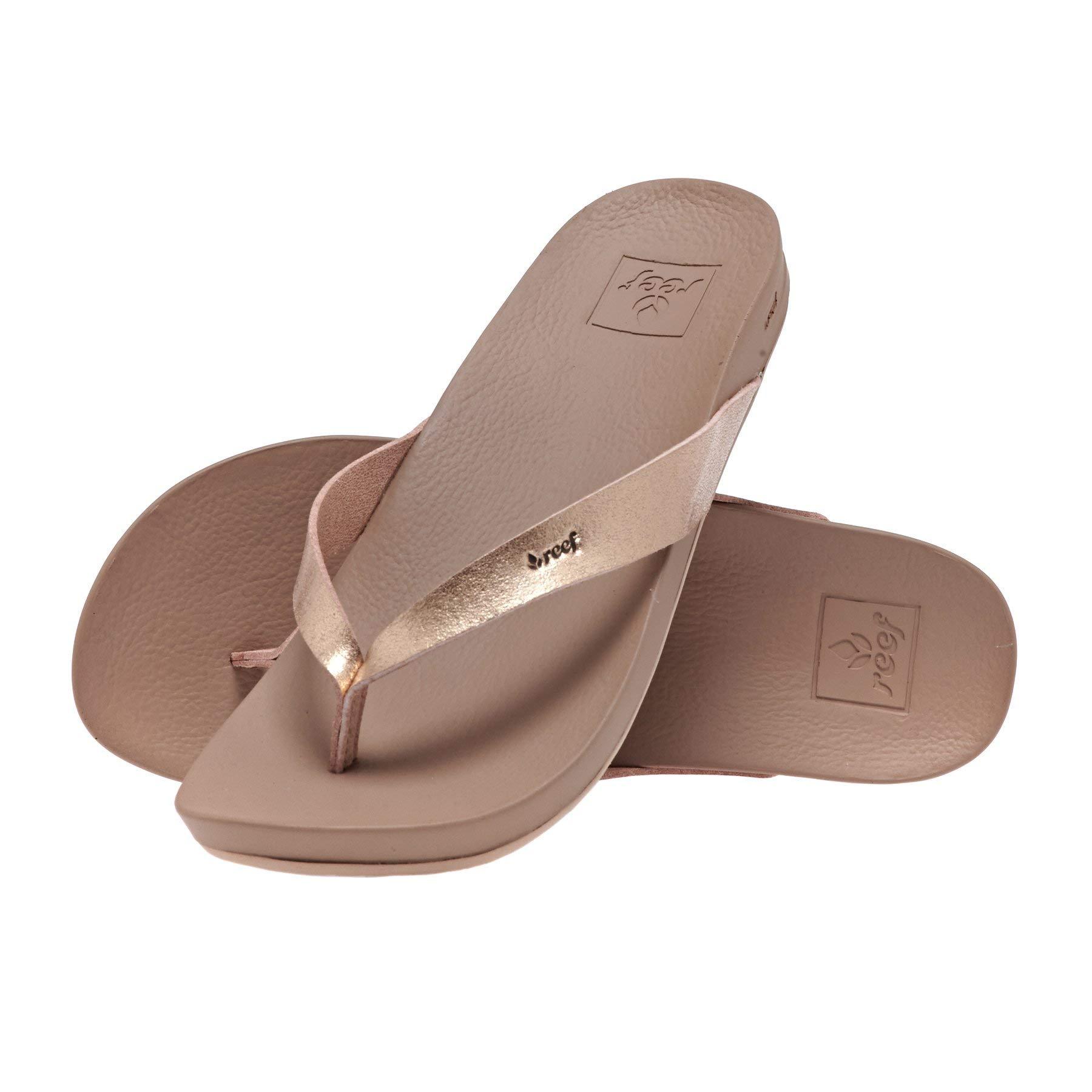 Vegan Leather Flip Flops Straps, Rose