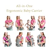 All-in-One Baby Carrier with Detachable Hip