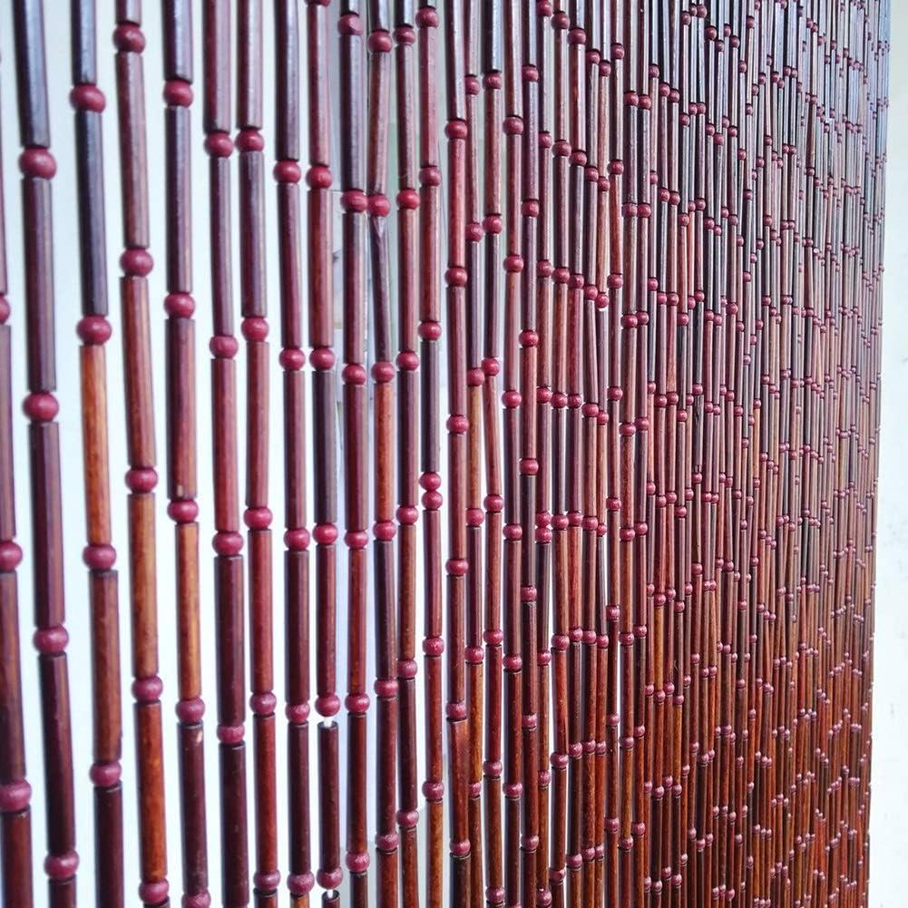 ZXL Cortinas de Cuentas Colgante de Madera de bambú Divisor de ...