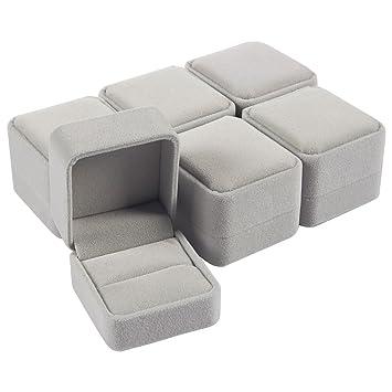 Amazon.com: Juego de 6 cajas de joyería – cajas de joyería ...