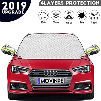 For LAND ROVER FREELANDER ALL YEARS CAR WINDSCREEN FROST COVER SNOW PROTECTOR