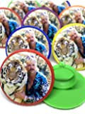 Tiger King Joe Exotic Cupcake Toppers Rings Package of 24 from Blue Fox Baking