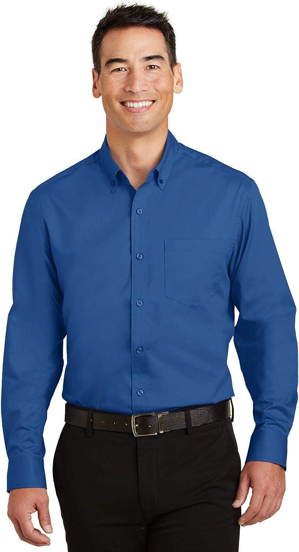Port Authority SuperPro Twill Shirt. S663
