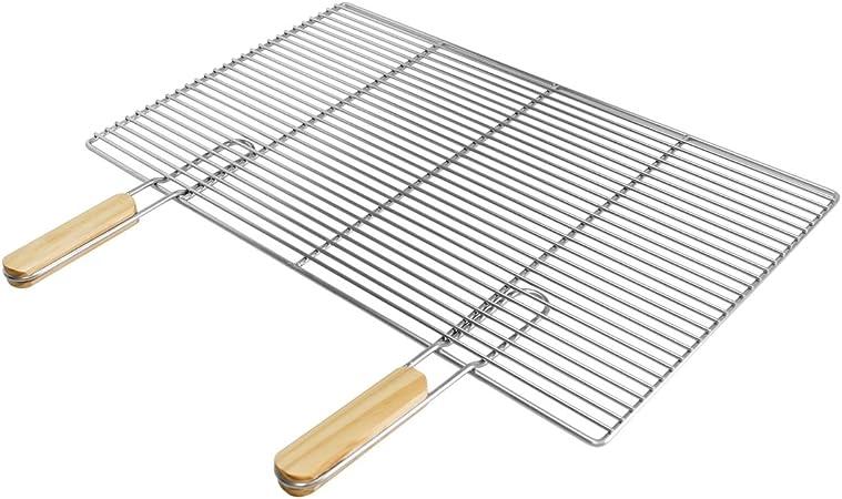 Grille De Barbecue Rectangulaire, 67 X 40 cm, En Fonte. Le