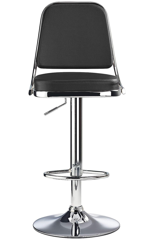 Marvelous Rimini Bar Stool Black Machost Co Dining Chair Design Ideas Machostcouk