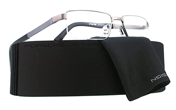 5357184d2aa4 Porsche Eyeglasses P 8118 BLACK B P8118  Amazon.co.uk  Clothing