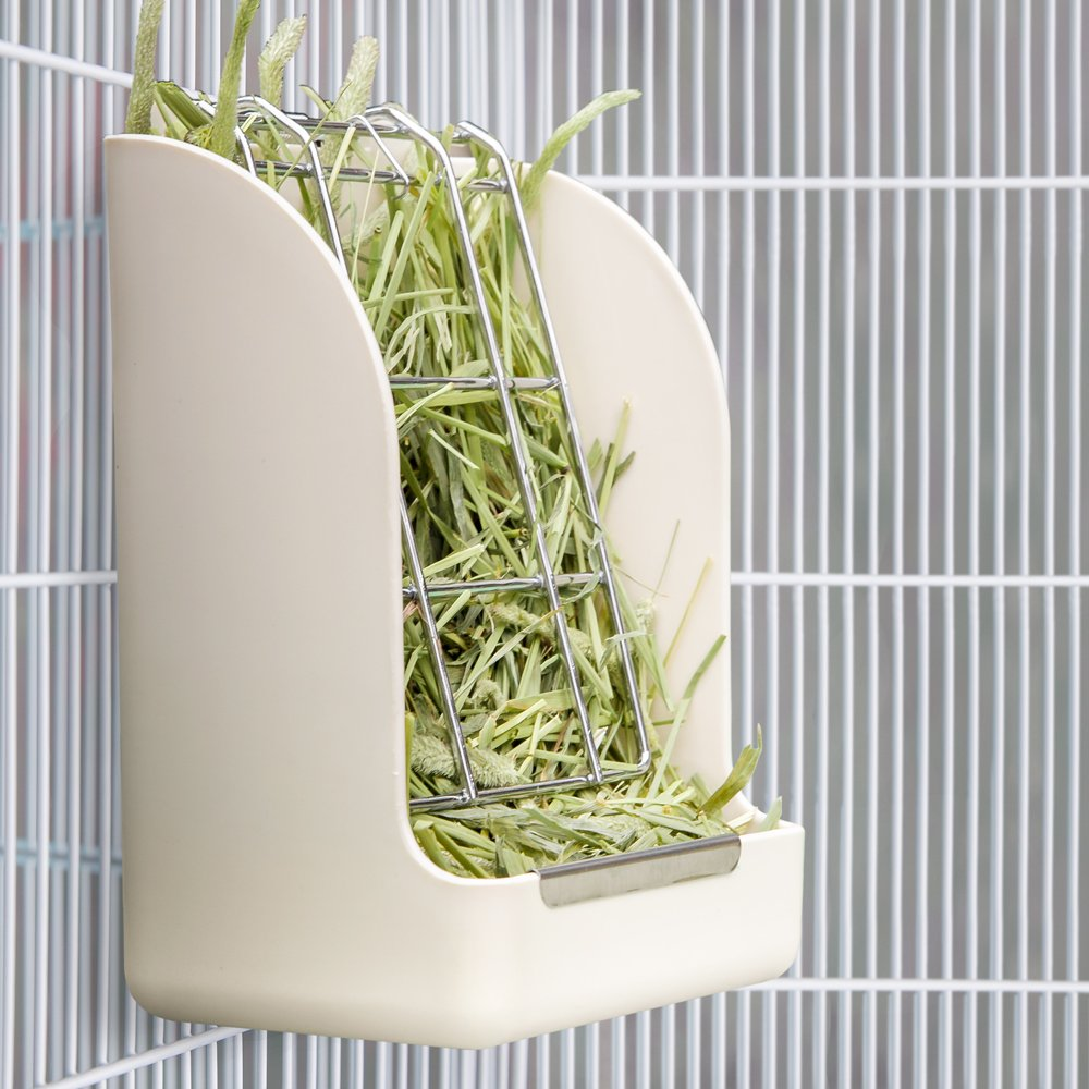 Mkono Hay Feeder Less Wasted Hay Rack Manger for Rabbit Guinea Pig Chinchilla by Mkono (Image #2)