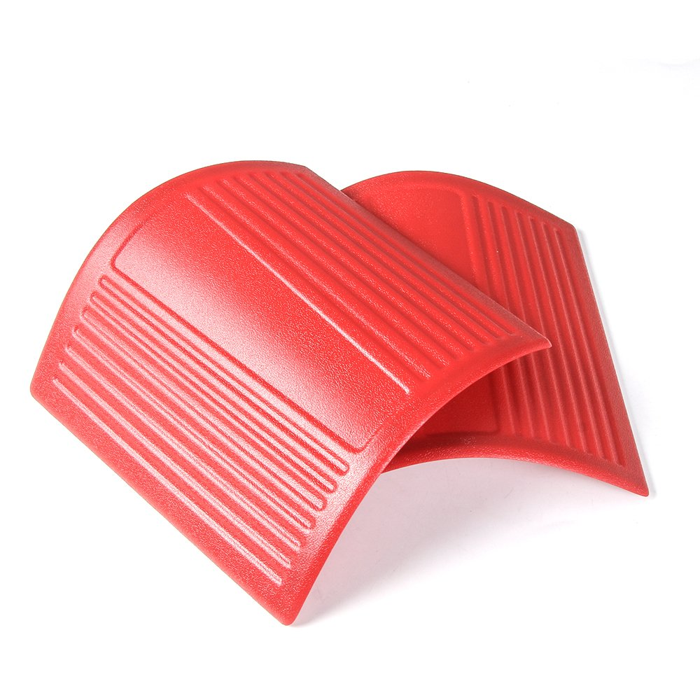 Red) RT-TCZ Cowl Body Armor Outer Cowling Cover for 2007-2018 Jeep Wrangler JK JKU