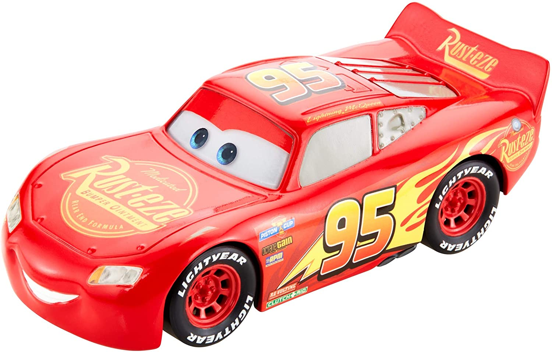 Amazon Com Disney Pixar Cars Racetrack Talkers Vehicle Lightning