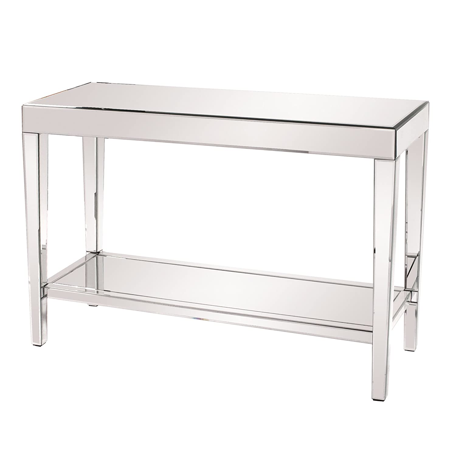 Amazon Howard Elliott Mirrored Coffee Table Kitchen