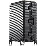 "Enkloze KLASIK Aluminum Carry-On Suitcase Spinner - 100% Aluminum TSA 21"" 24"" 28"""