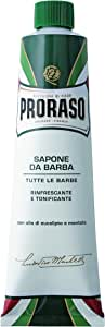 Proraso Refreshing And Invigorating Shaving Cream With Eucalyptus Oil & Menthol by Proraso for Men - 5.07 oz Shaving Cream, 150 ml