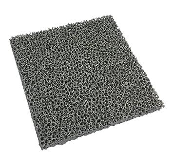 Schaumkeramik Platte 200 X 200 X 22 Mm Feinstaubfilter Russfilter