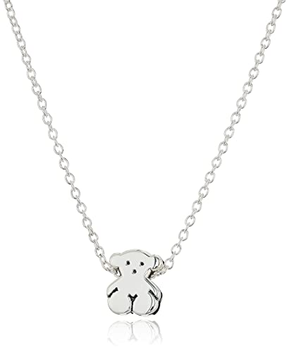 Amazon tous jewelry icon silver sterling silver with mini tous jewelry quoticon silverquot sterling silver with mini bear pendant aloadofball Images